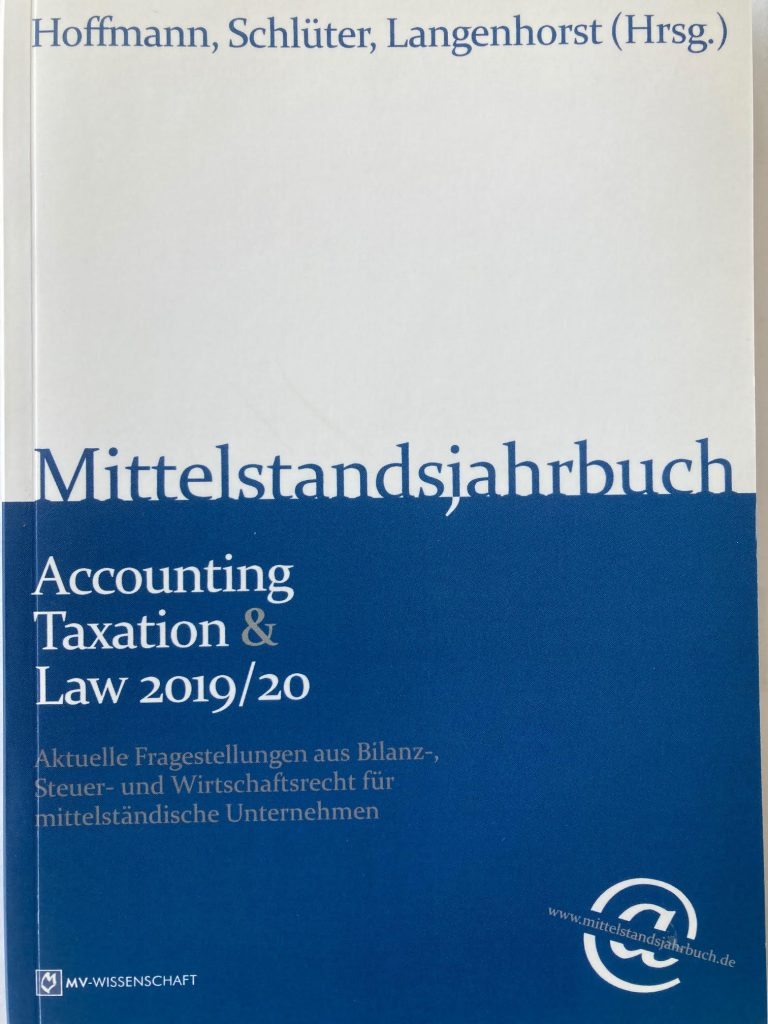 Mittelstandsjahrbuch Accounting, Taxation & Law 2019 20