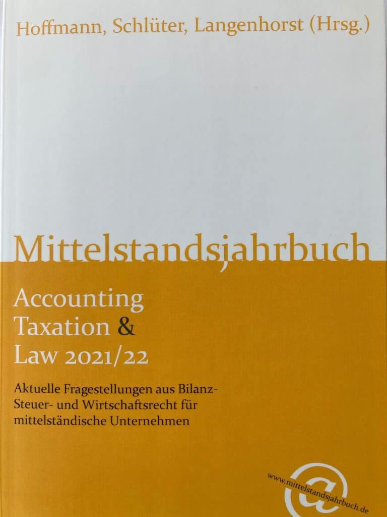 Mittelstandsjahrbuch Accounting, Taxation & Law 2021 22
